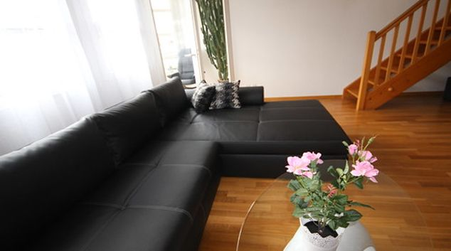 Living area at Seftingen Apartment
