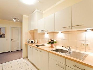 Kitchen at Neumarkt Apartment