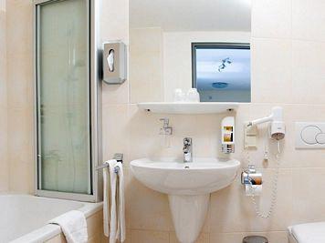 Bathroom at Neumarkt Apartment
