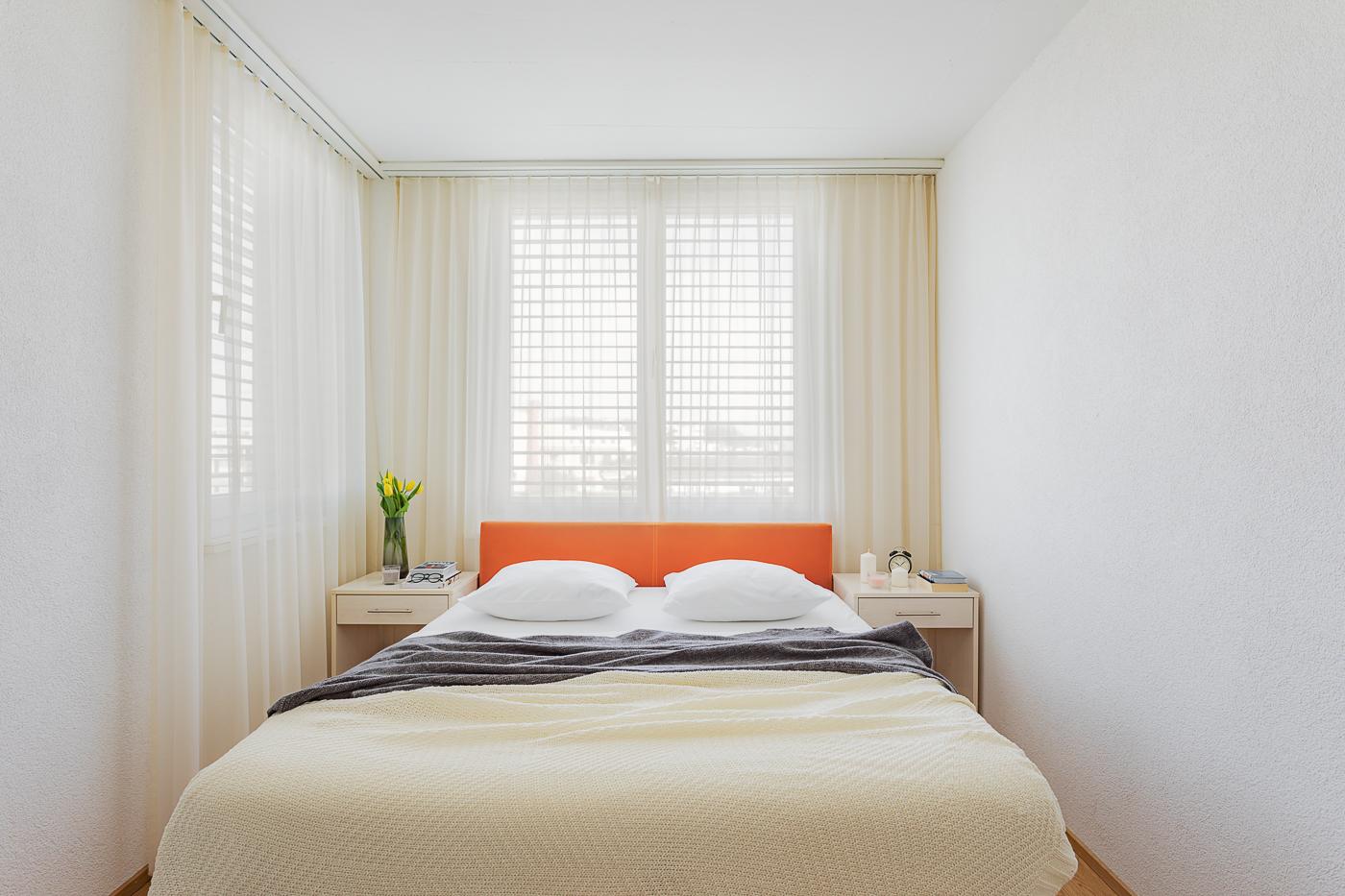 Bed at Oerlikon Lodge