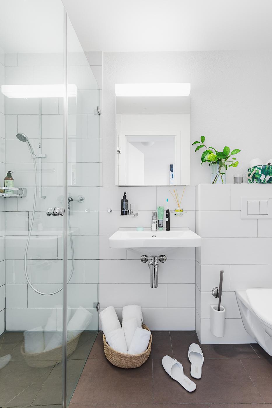 Bathroom at Oerlikon Lodge