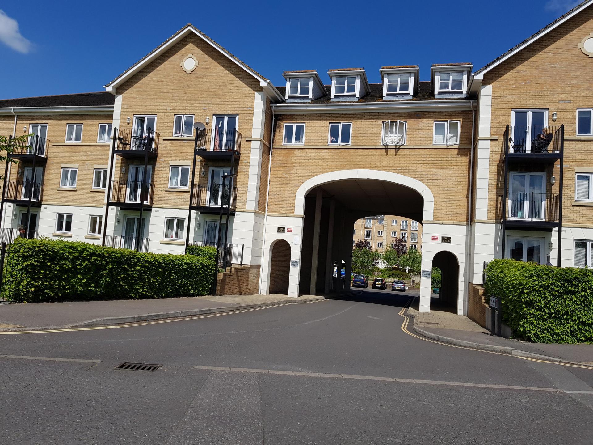 Exterior at Le Tissier Court Apartment, The Polygon, Southampton
