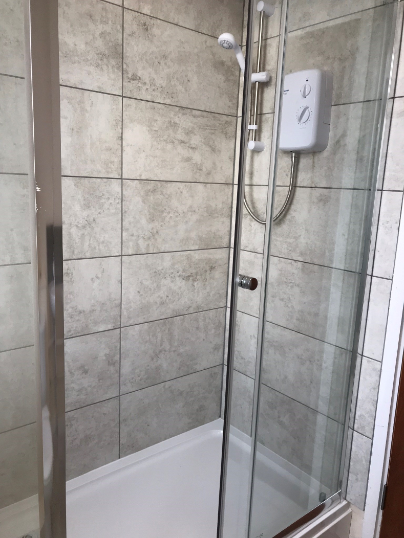 Bathroom at Hanover Building Apartments, Centre, Southampton
