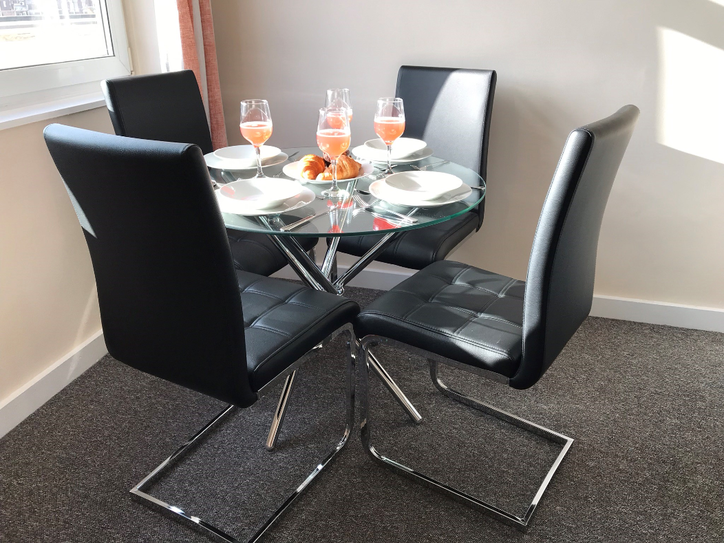Dining area at Hanover Building Apartments, Centre, Southampton