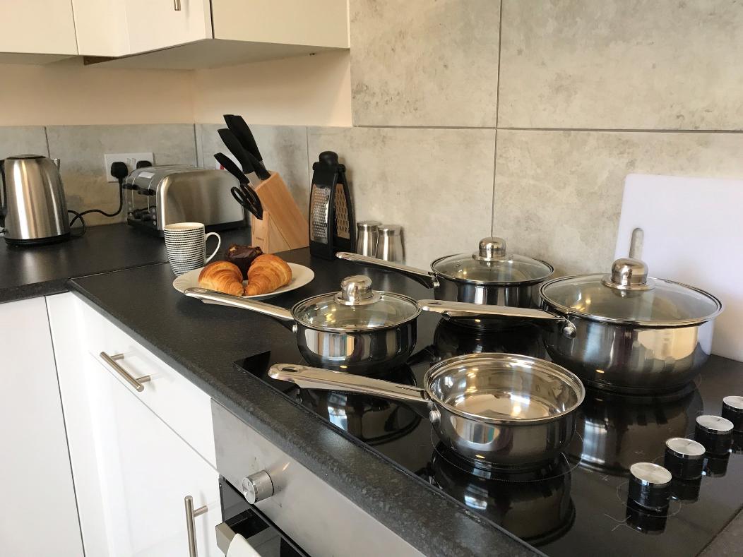 Kitchen at Hanover Building Apartments, Centre, Southampton
