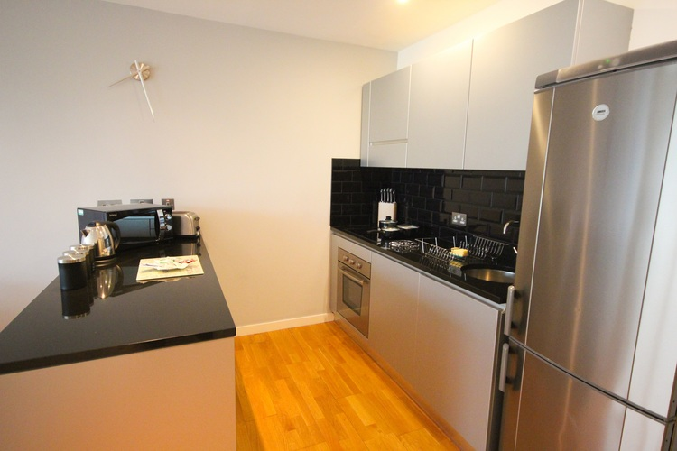 Kitchen at Quayside Loft Apartments