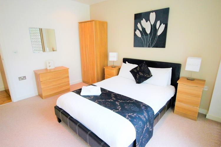 Bedroom at Quayside Loft Apartments