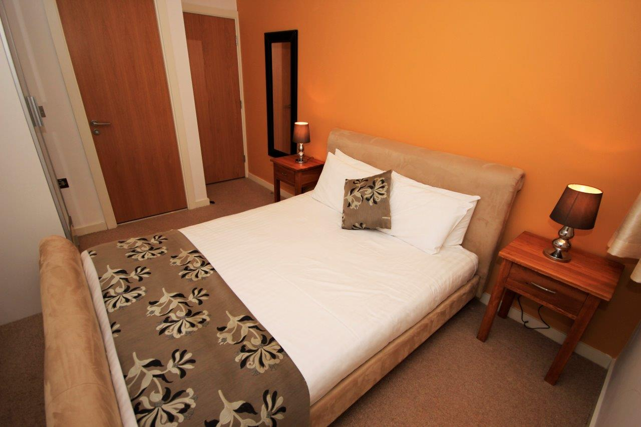 Cosy bedroom at Quayside Loft Apartments