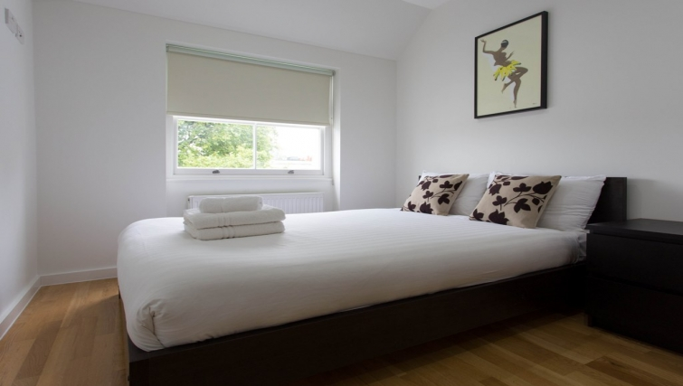 Bedroom at Princes Square Apartments