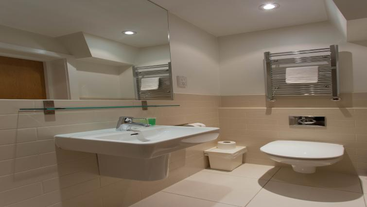 Bathroom at Princes Square Apartments