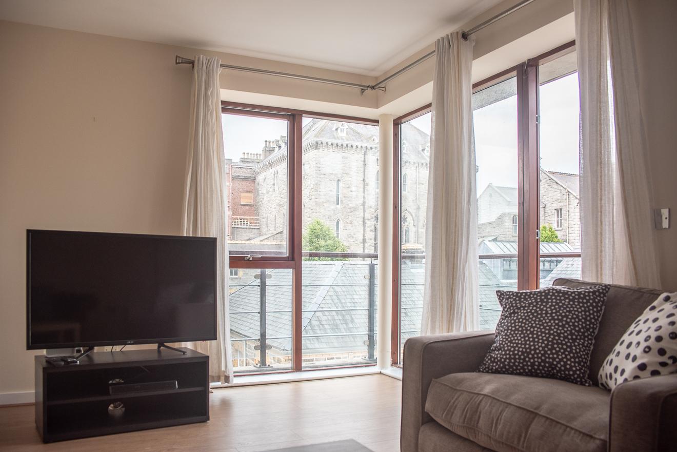 TV at Loreto Abbey Apartments, Terenure, Dublin