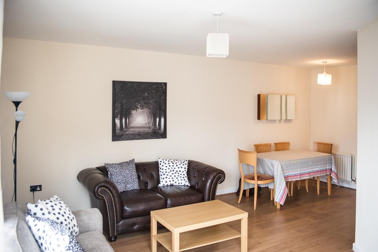 Sofa at Loreto Abbey Apartments, Terenure, Dublin