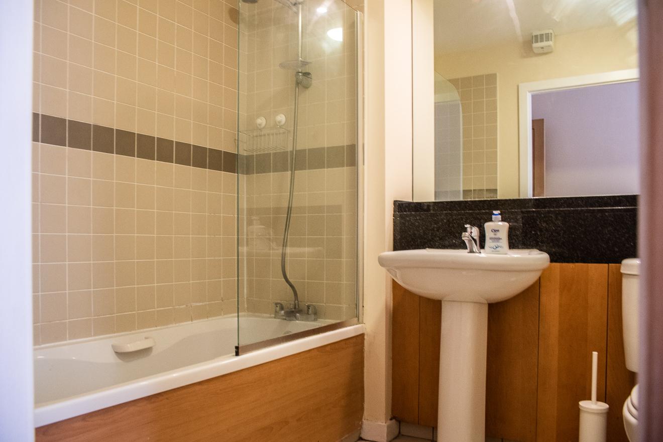 Bathtub at Loreto Abbey Apartments, Terenure, Dublin