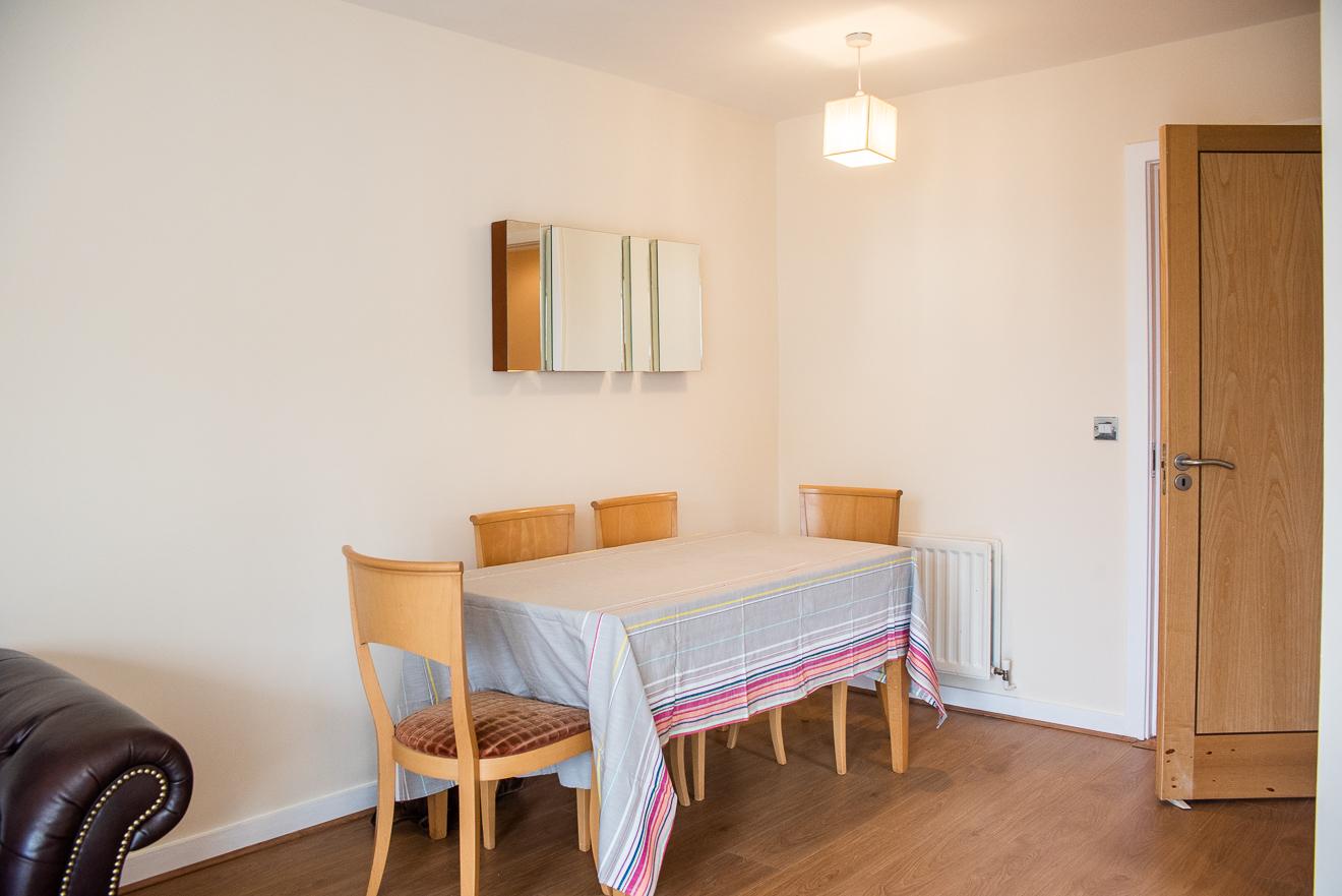 Dining table at Loreto Abbey Apartments, Terenure, Dublin
