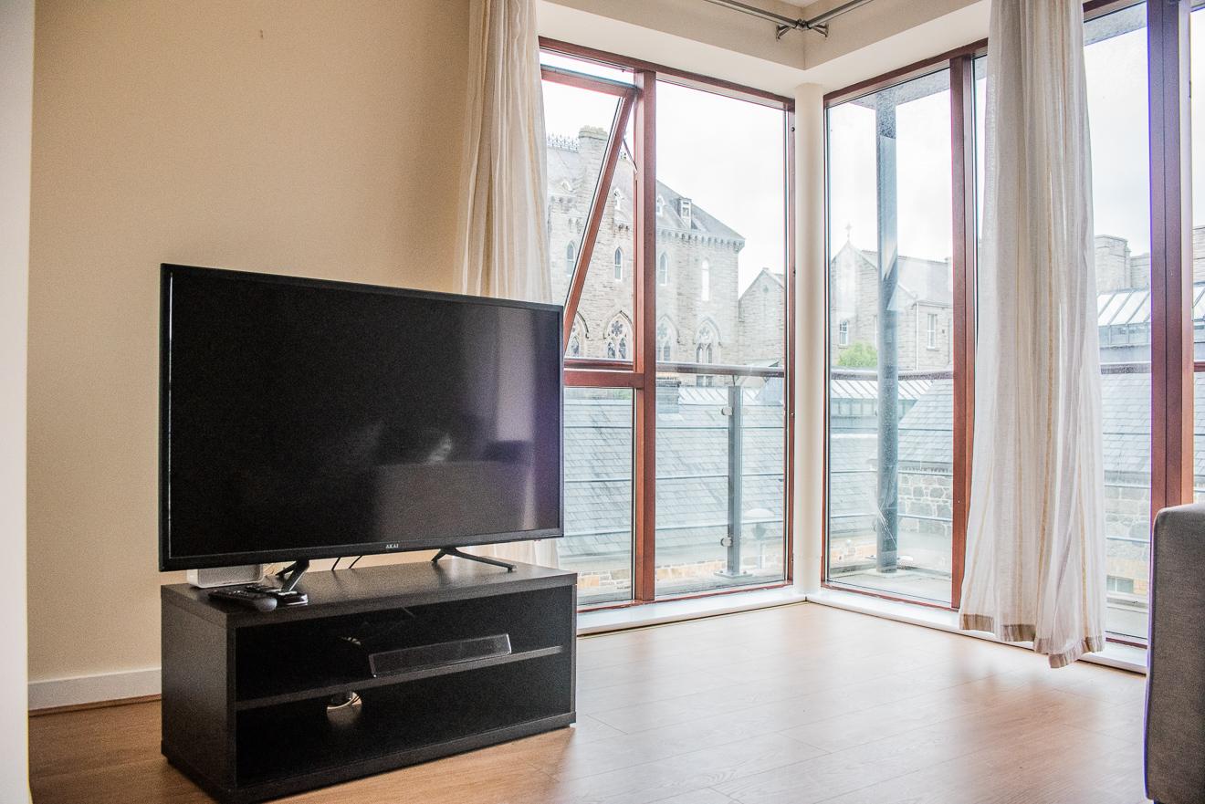 TV space at Loreto Abbey Apartments, Terenure, Dublin