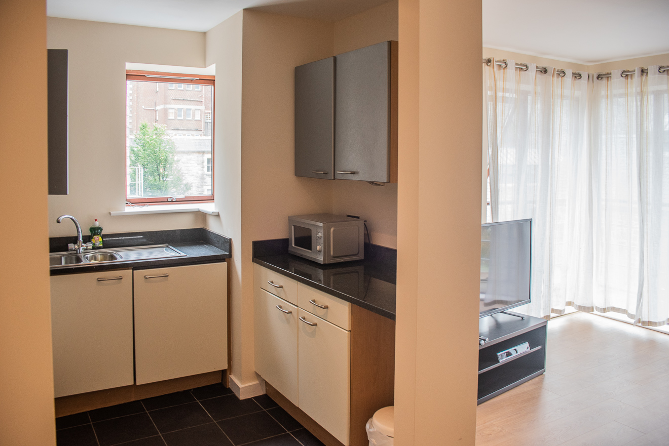 Microwave at Loreto Abbey Apartments, Terenure, Dublin