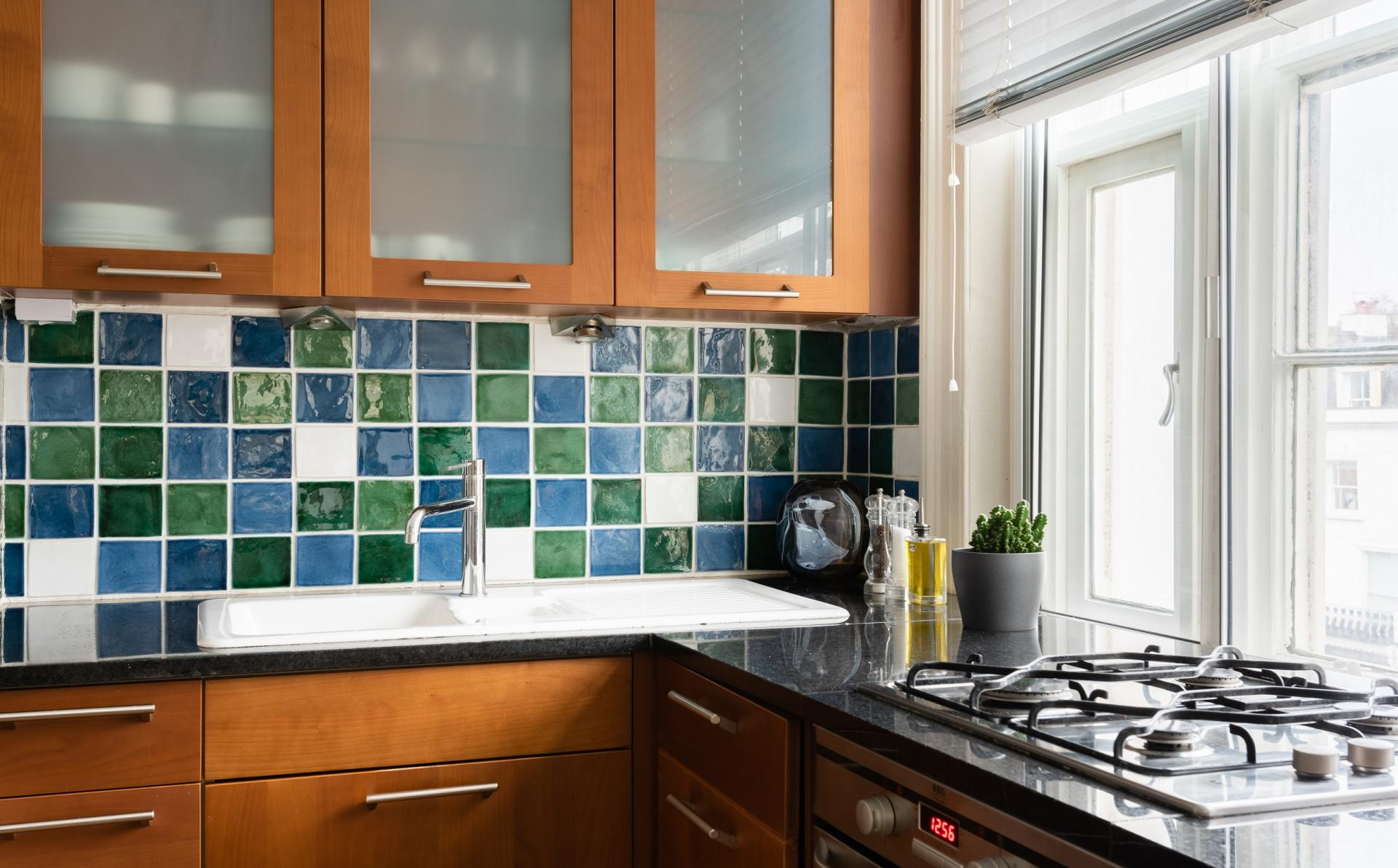 Fully equipped kitchen at The Holland Park Escape, Holland Park, London