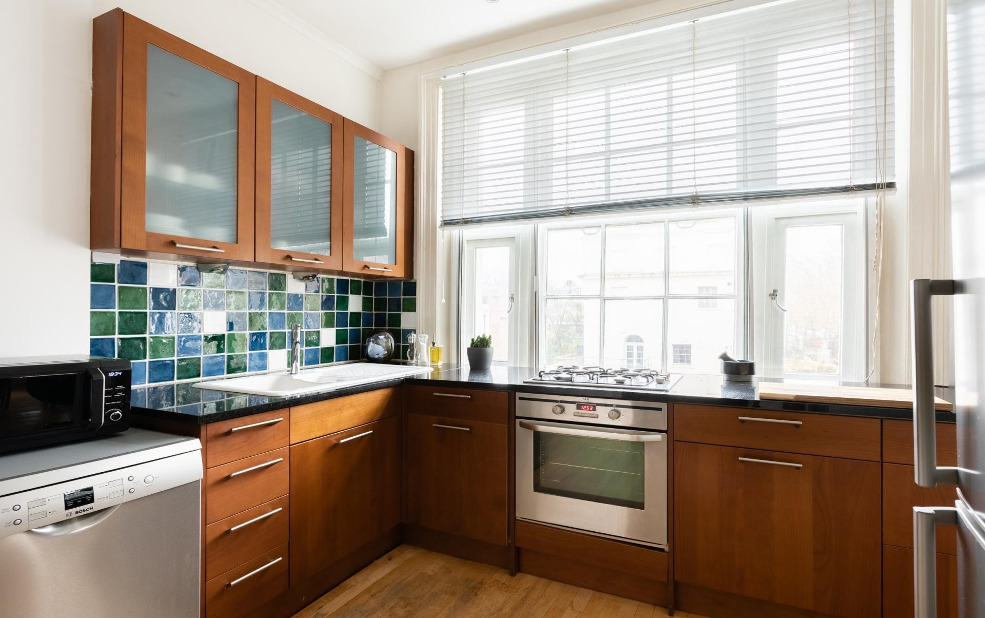 Kitchen at The Holland Park Escape, Holland Park, London