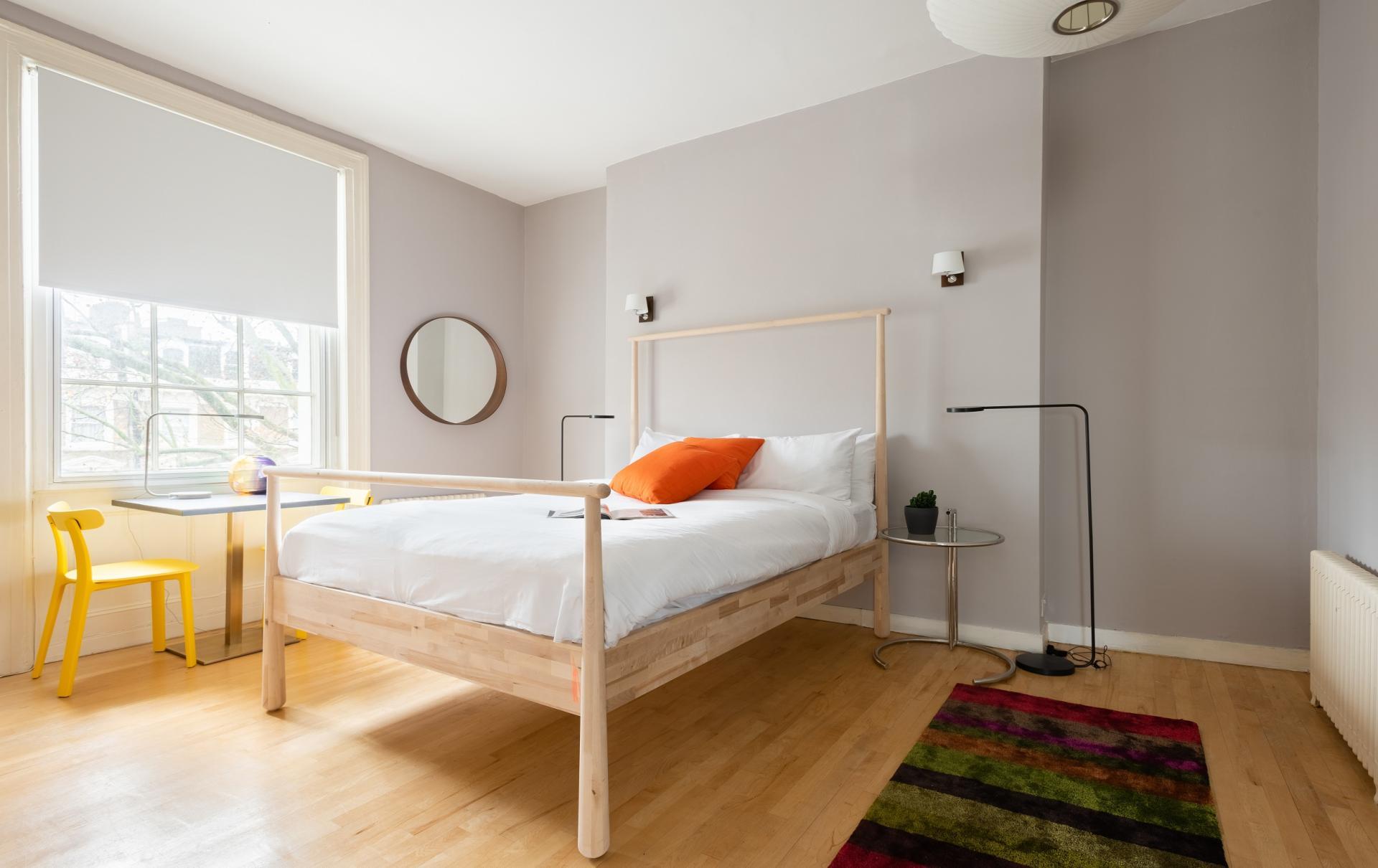 Bedroom at The Holland Park Escape, Holland Park, London