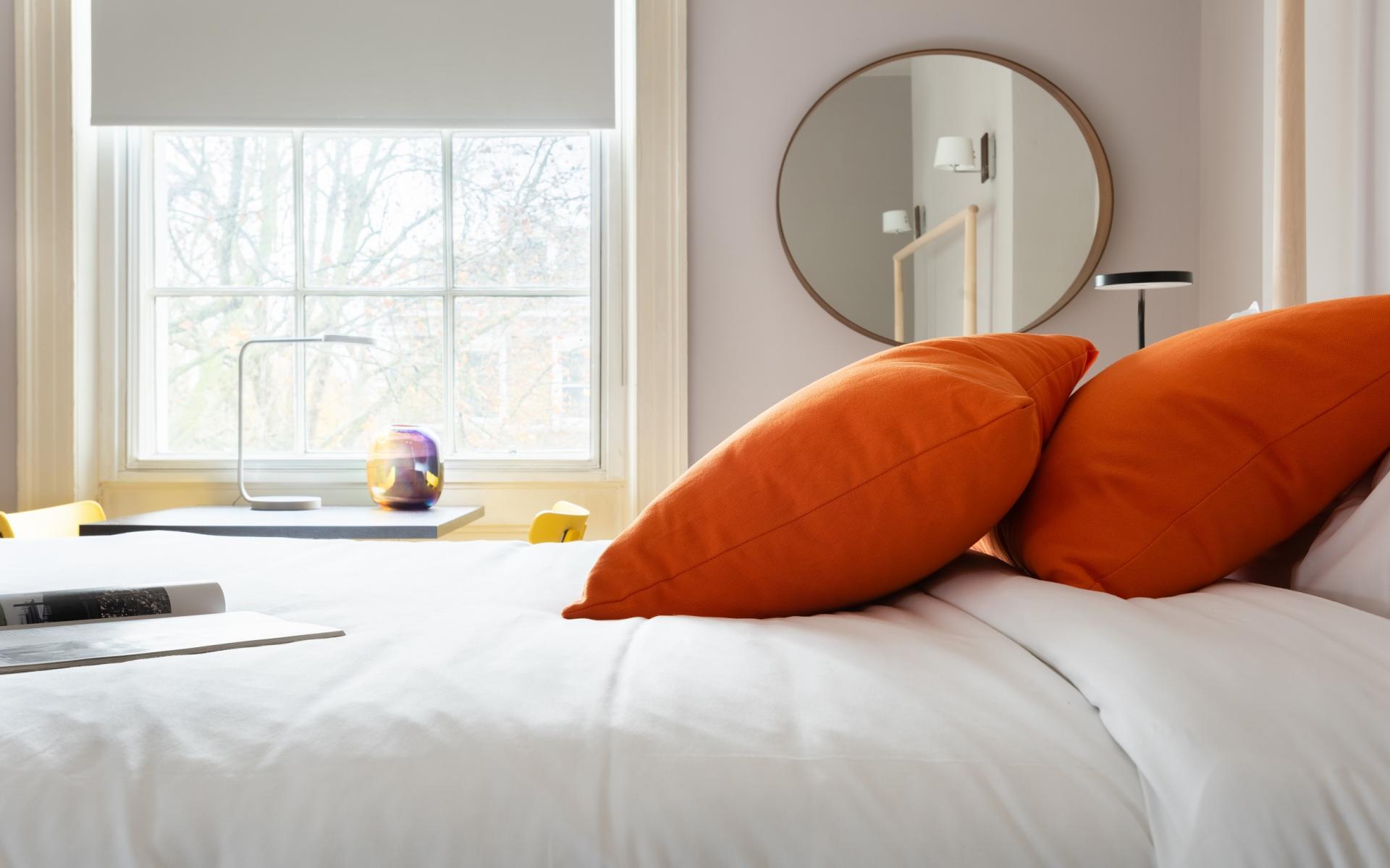 Bed at The Holland Park Escape, Holland Park, London