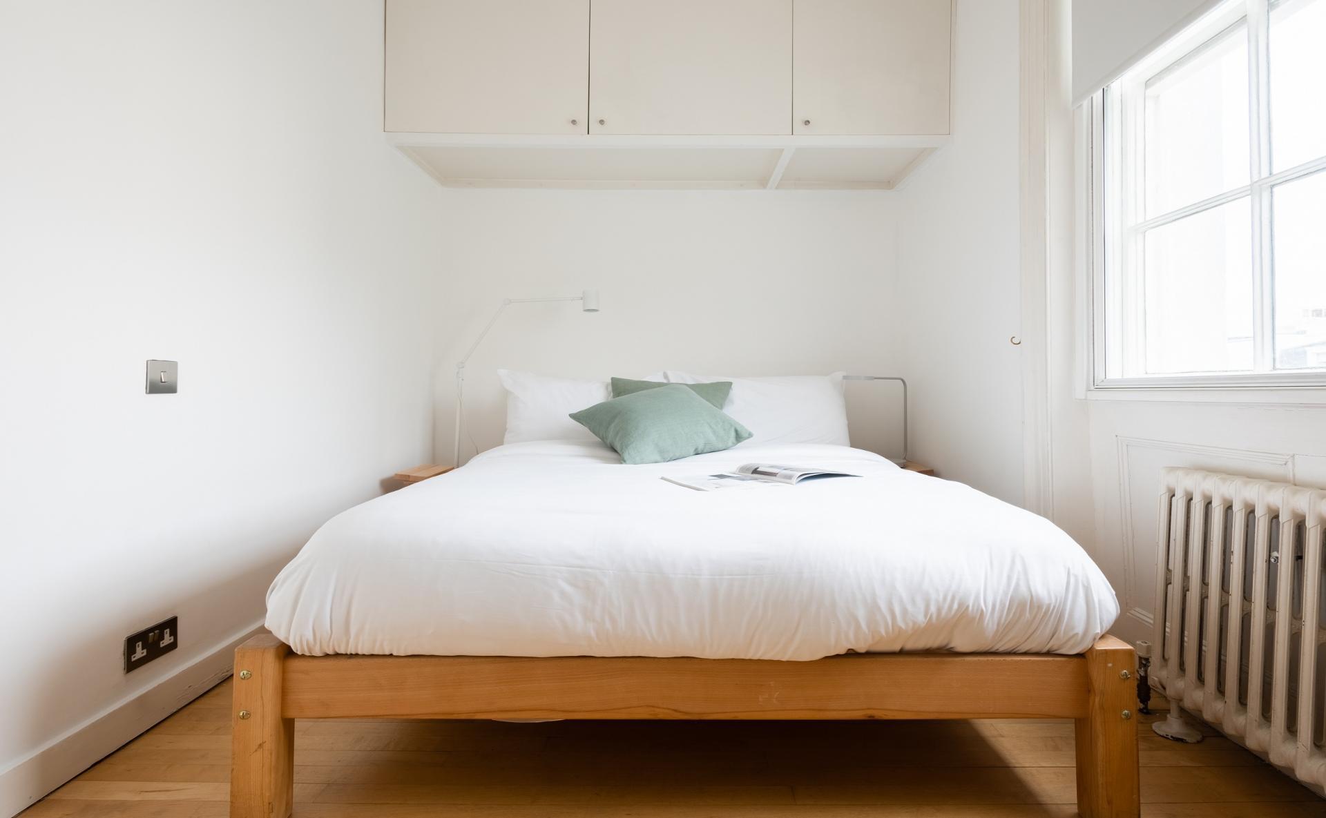 Double bed at The Holland Park Escape, Holland Park, London