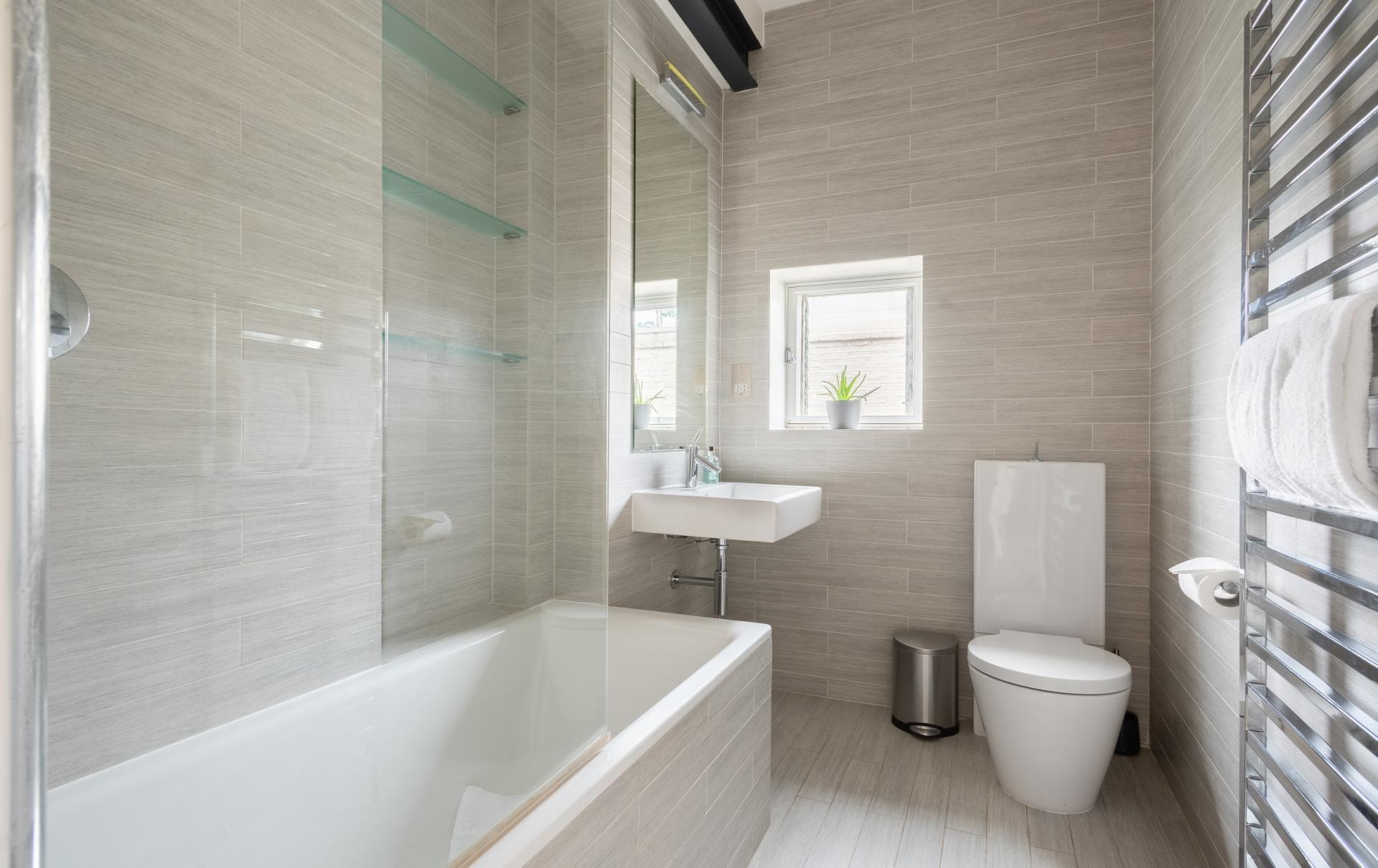 Bathroom at The Holland Park Escape, Holland Park, London