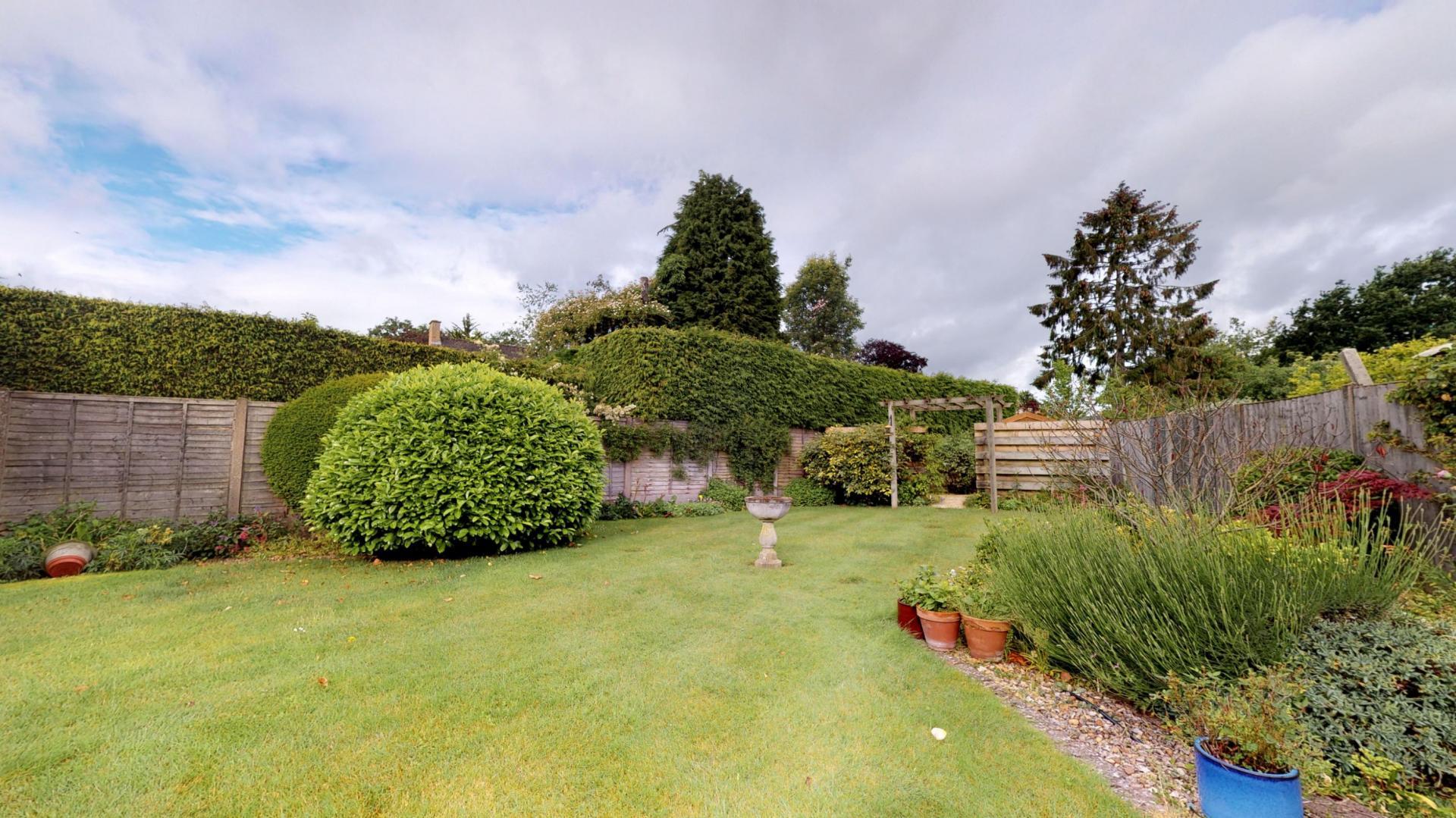 Garden at Blenheim Gate House, Centre, Woodstock