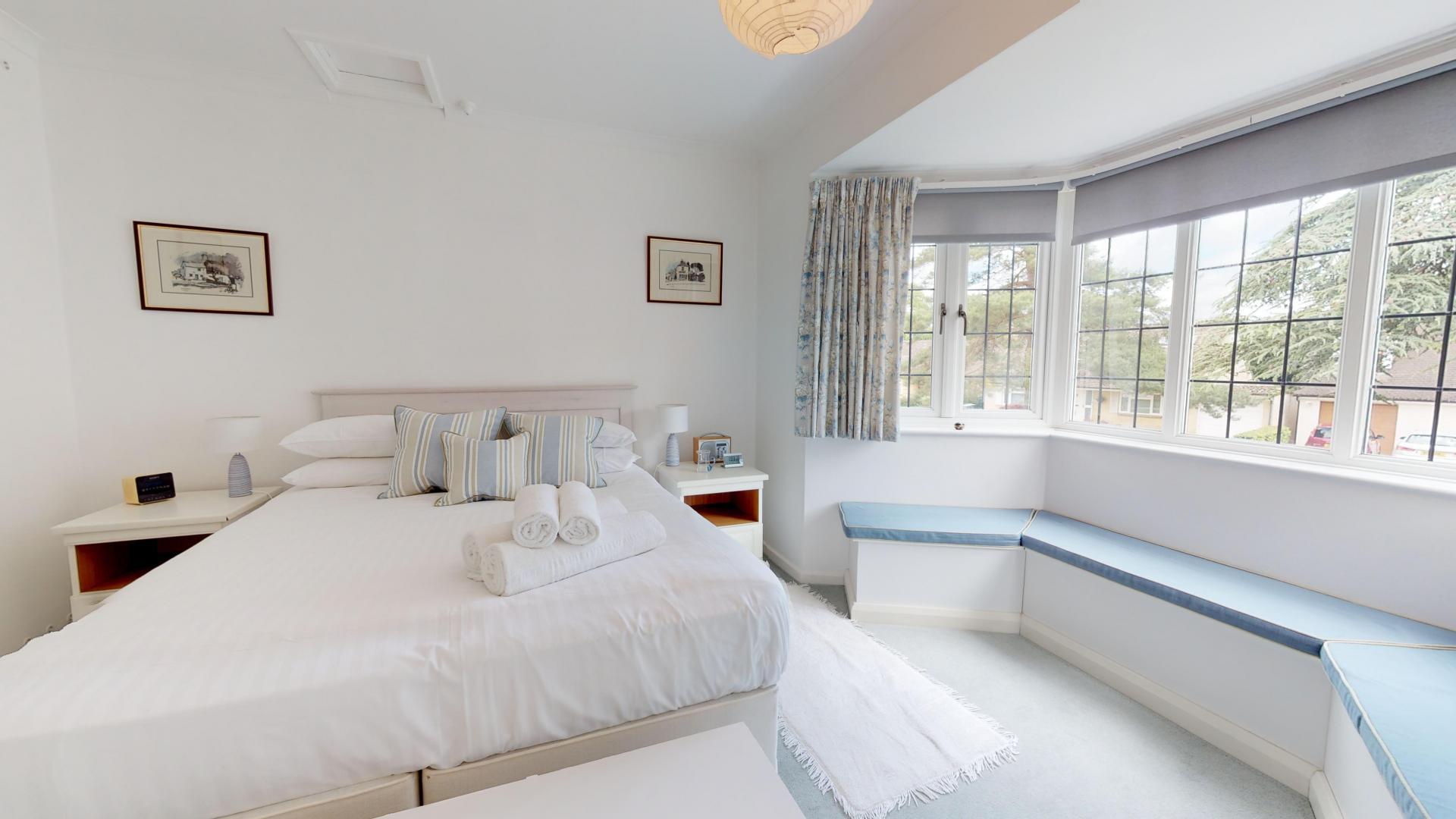 Bedroom at Blenheim Gate House, Centre, Woodstock