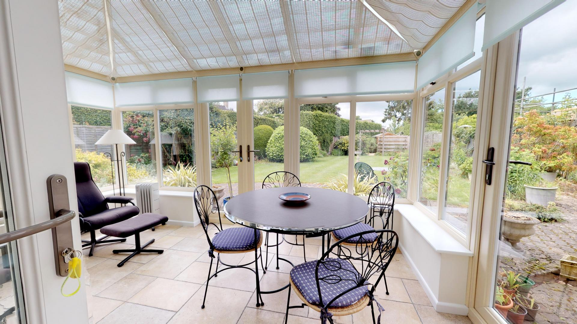 Dining area at Blenheim Gate House, Centre, Woodstock