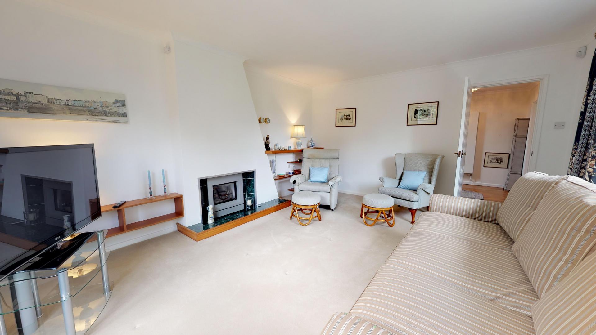 Living room at Blenheim Gate House, Centre, Woodstock