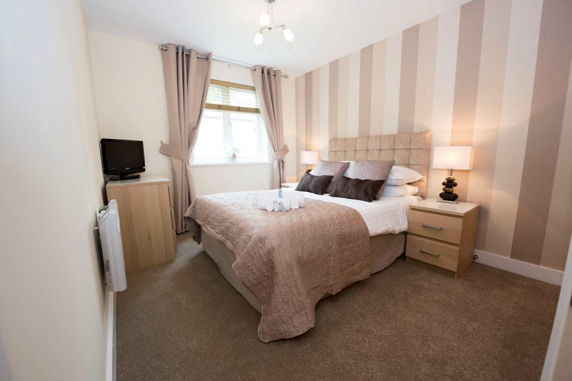 Bed at Elmcroft Court Apartments, Three Bridges, Crawley