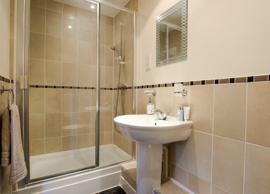 Shower at Elmcroft Court Apartments, Three Bridges, Crawley