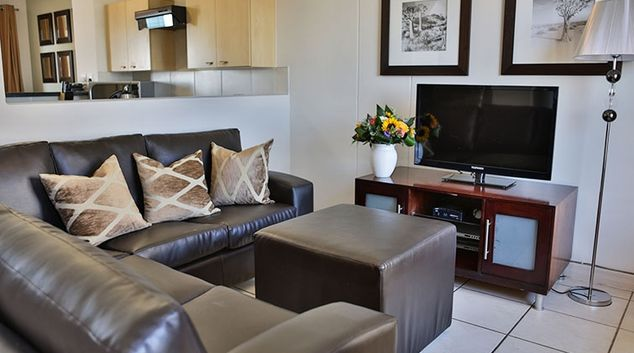 Neutral living area at Westpoint Executive Suites