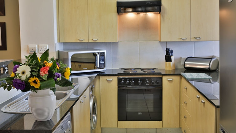 Spacious kitchen in Westpoint Executive Suites