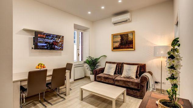 Living area at Painter Harmony Apartment, Municipio I, Rome