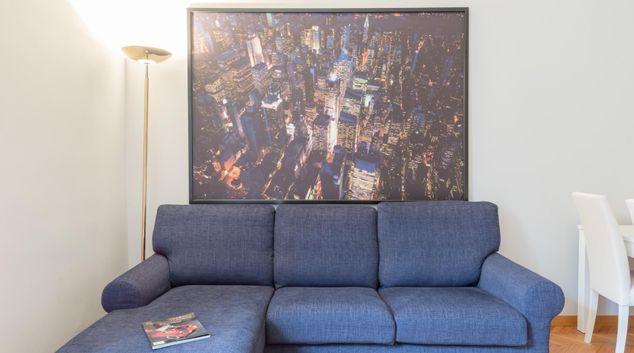 Sofa at Bouganville Apartment
