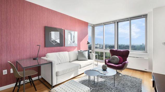 Living Room at Avalon Fort Greene