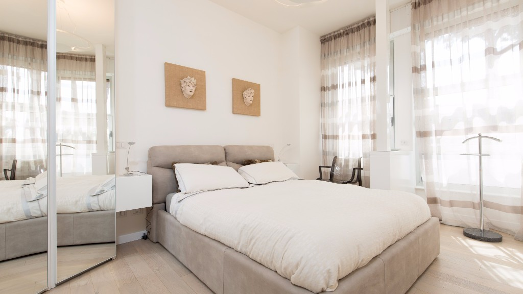 Bedroom at South Aria Apartment, Eur, Rome