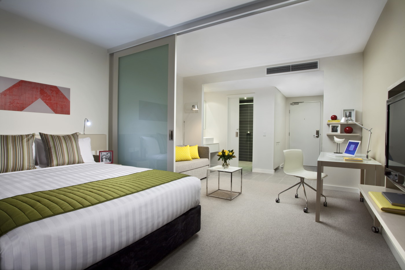 Bedroom at Citadines Bourke Apartments