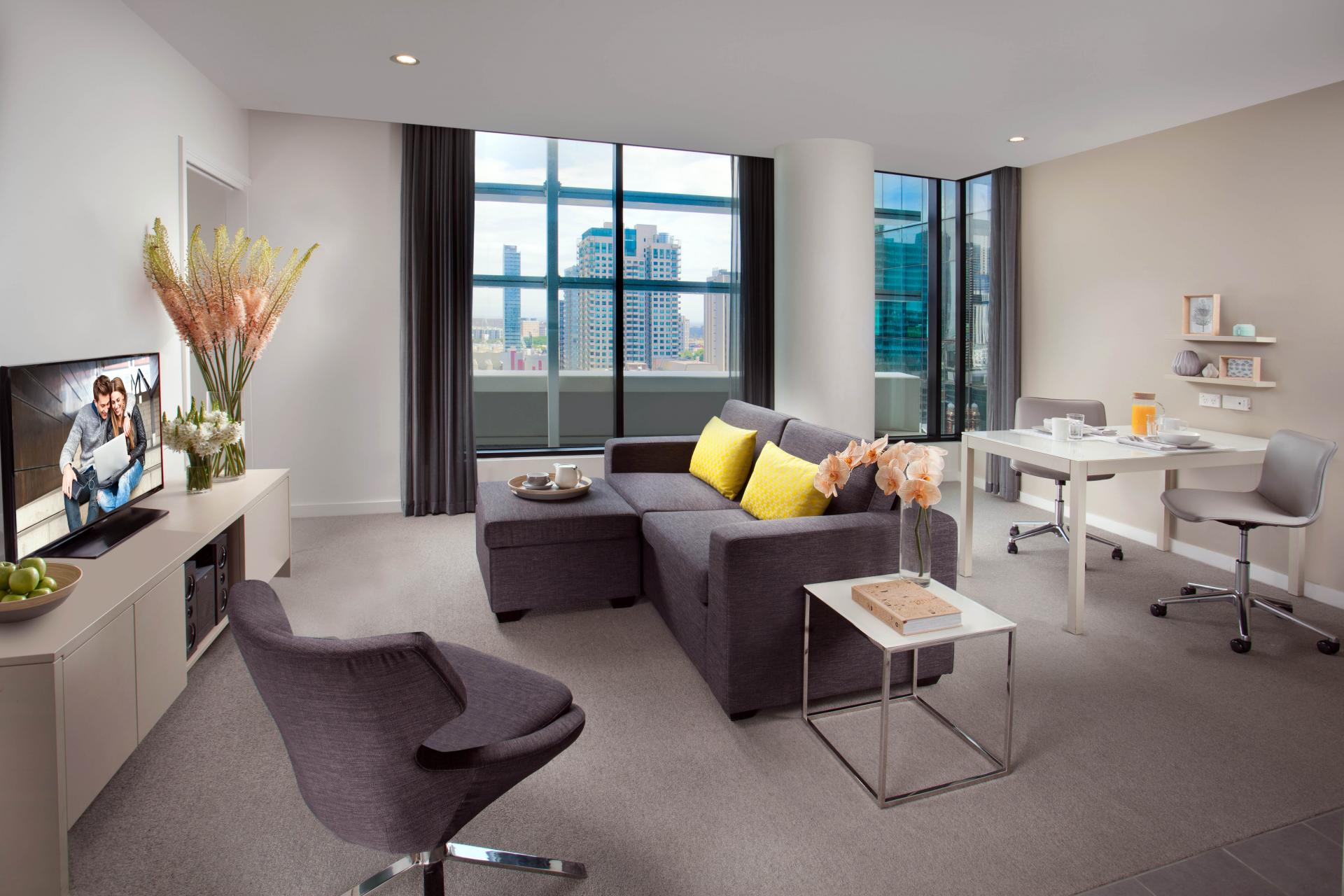 One bed at Citadines Bourke Apartments