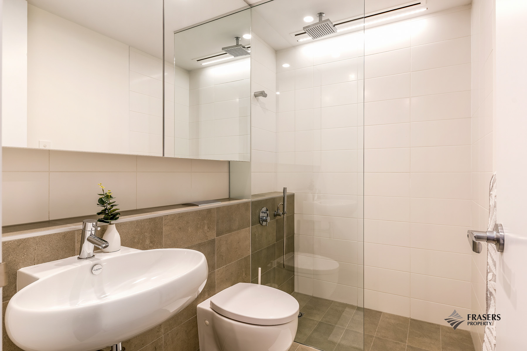 Bathroom at Riverside Parade Apartments by Fraser, Centre, Perth