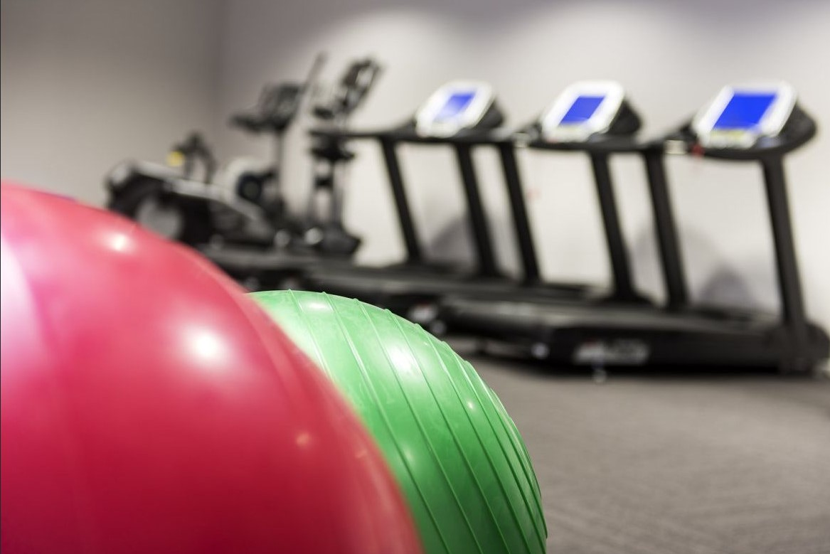 Gym at Riverside Parade Apartments by Fraser, Centre, Perth