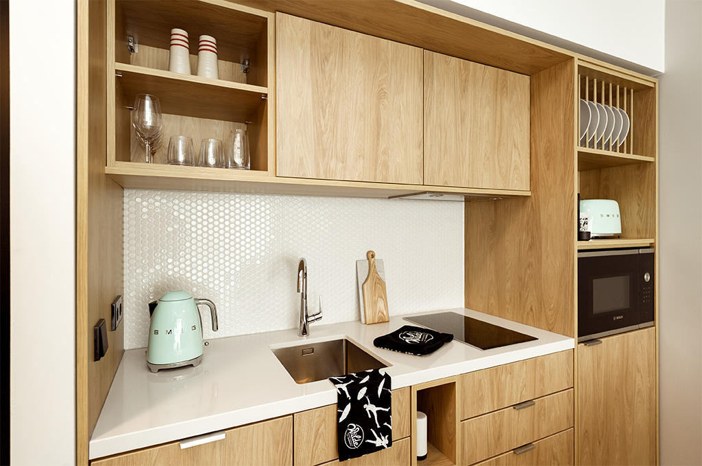 Kitchen at Wilde Aparthotels by Staycity Grassmarket, Centre, Edinburgh