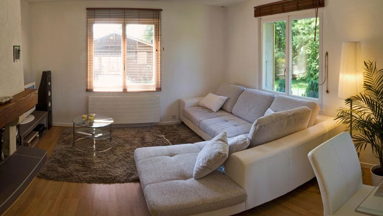 Lounge at Dully Apartment, Dully, Nyon