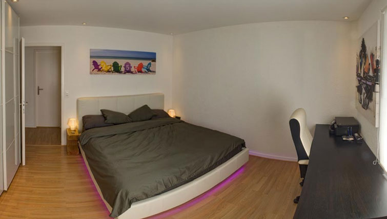 Bedroom at Dully Apartment, Dully, Nyon
