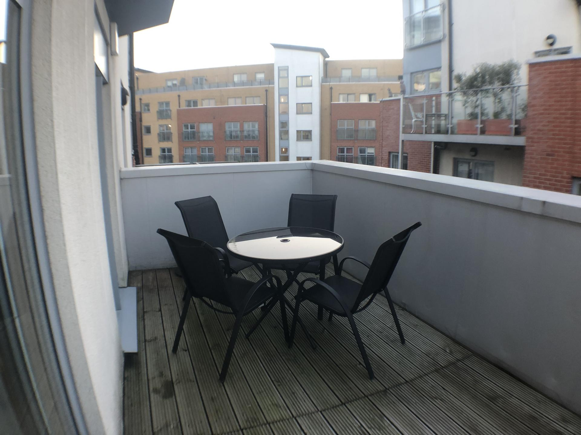 Balcony at Mulberry Lodge Apartments, Centre, St Albans