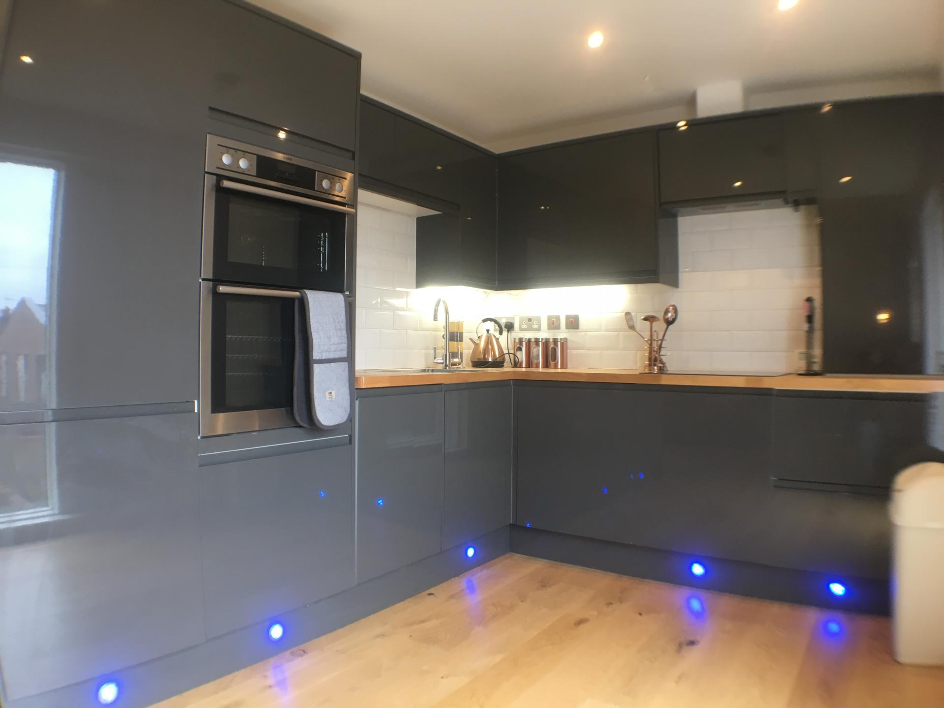 Kitchen at Sweet Briar Mews Apartment, Centre, St Albans