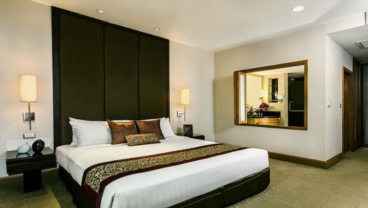 Bedroom at Ascott Sathorn Apartments