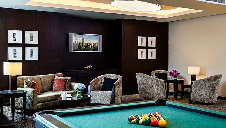 Games room at Ascott Sathorn Apartments
