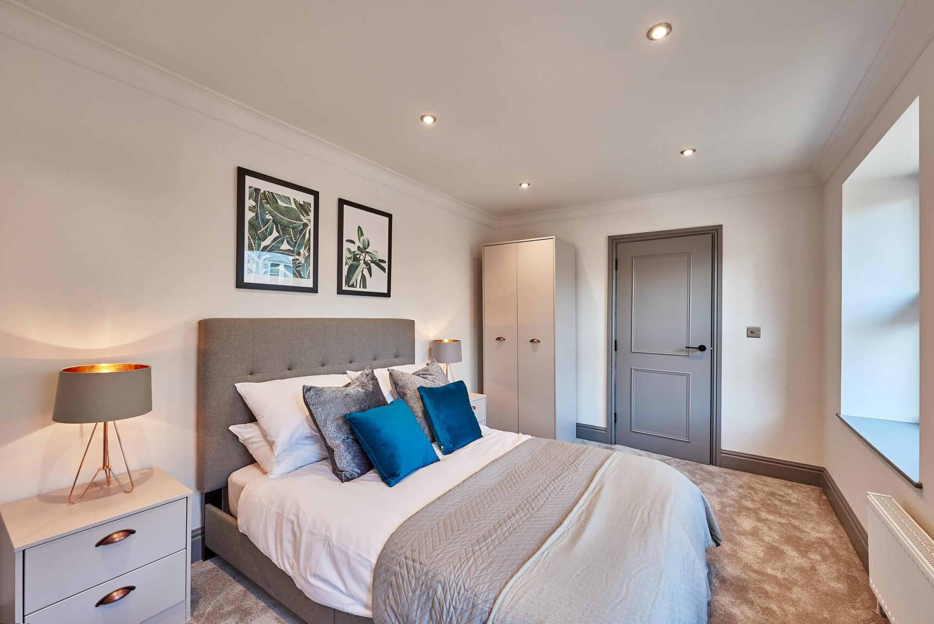 2nd Bedroom at The St Paul's Residence, Jewellery Quarter, Birmingham
